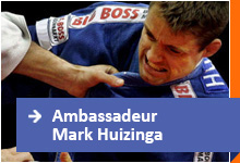Mark Huizinga Ambassadeur van Blessed Generation